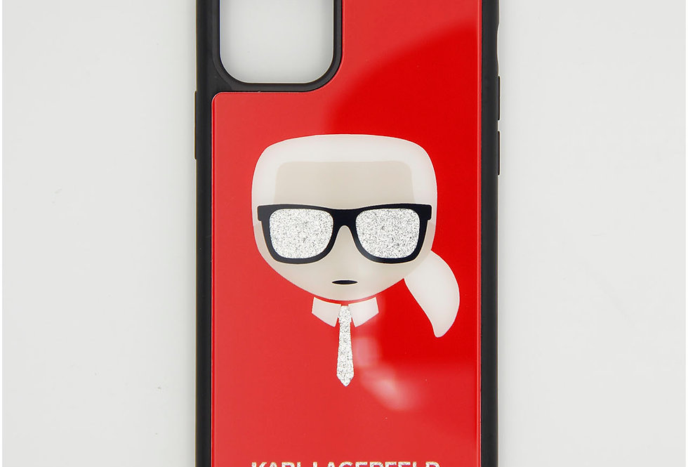 Стеклянный чехол на iPhone 11 Pro Karl Lagerfeld