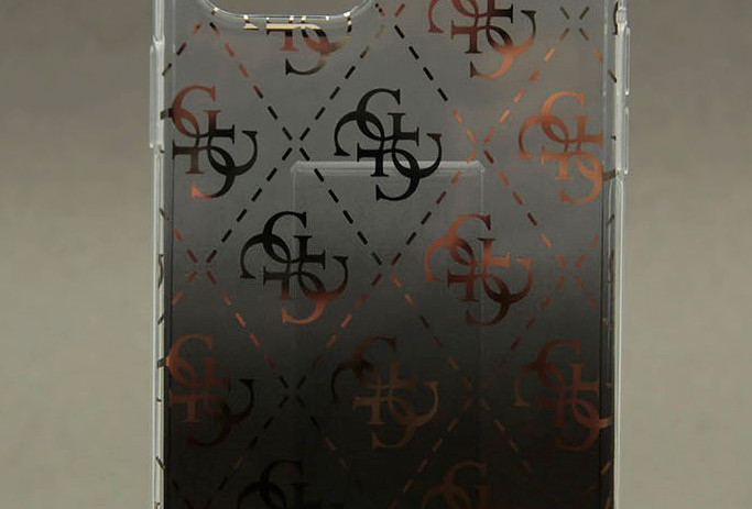 Чехол для iPhone 12 Pro Max с логотипом Guess