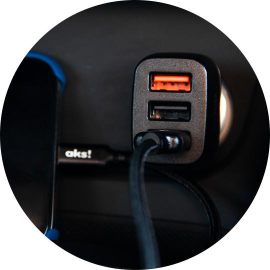 Автомобильные зарядки