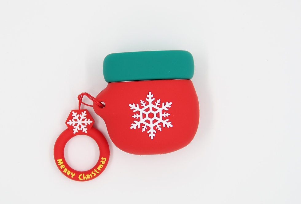 Чехол на AirPods (Merry Christmas)
