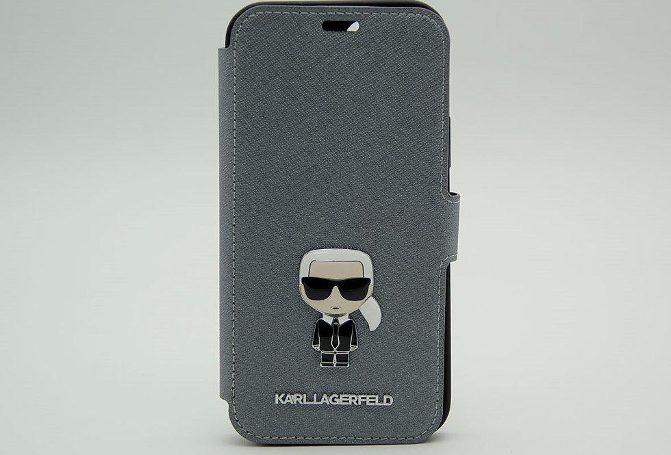 Чехол-книжка для iPhone 12 Pro Max Karl Lagerfeld