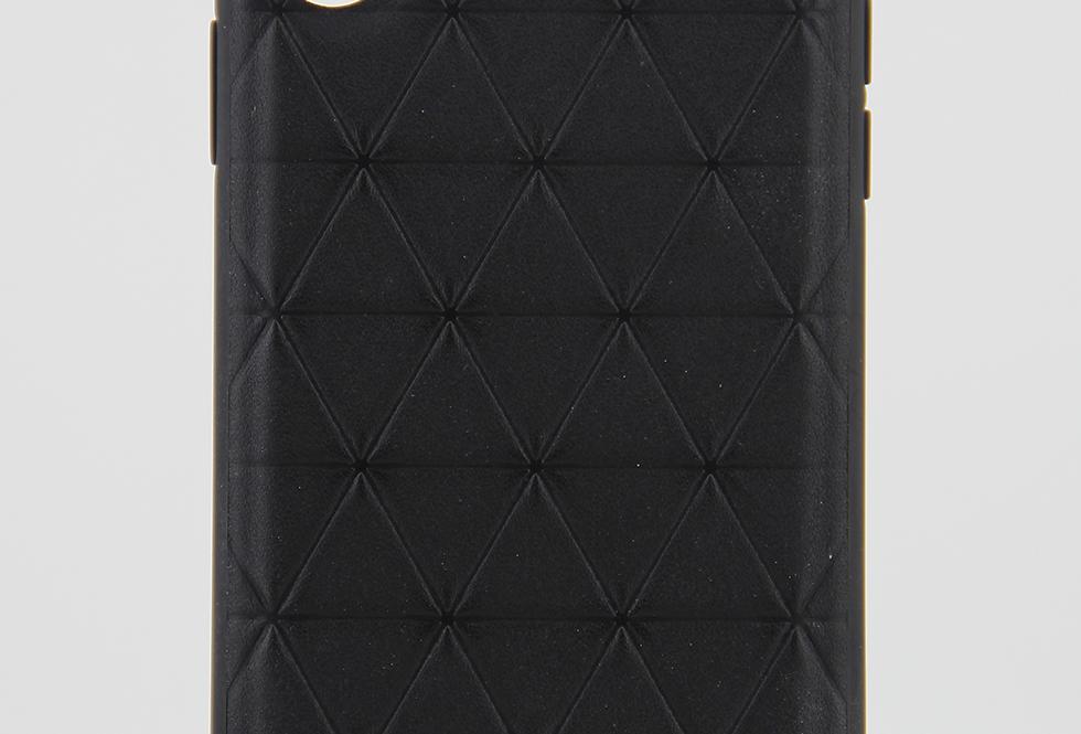 Кожаный чехол на iPhone X/Xs BMW L #3