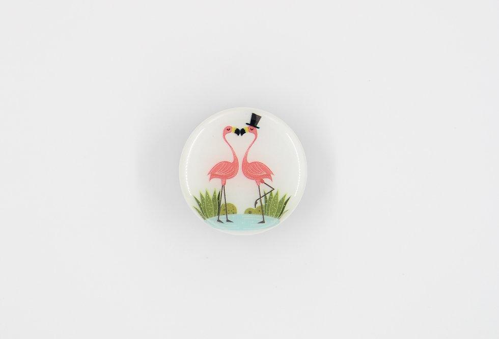 Попсокет Розовый фламинго #13