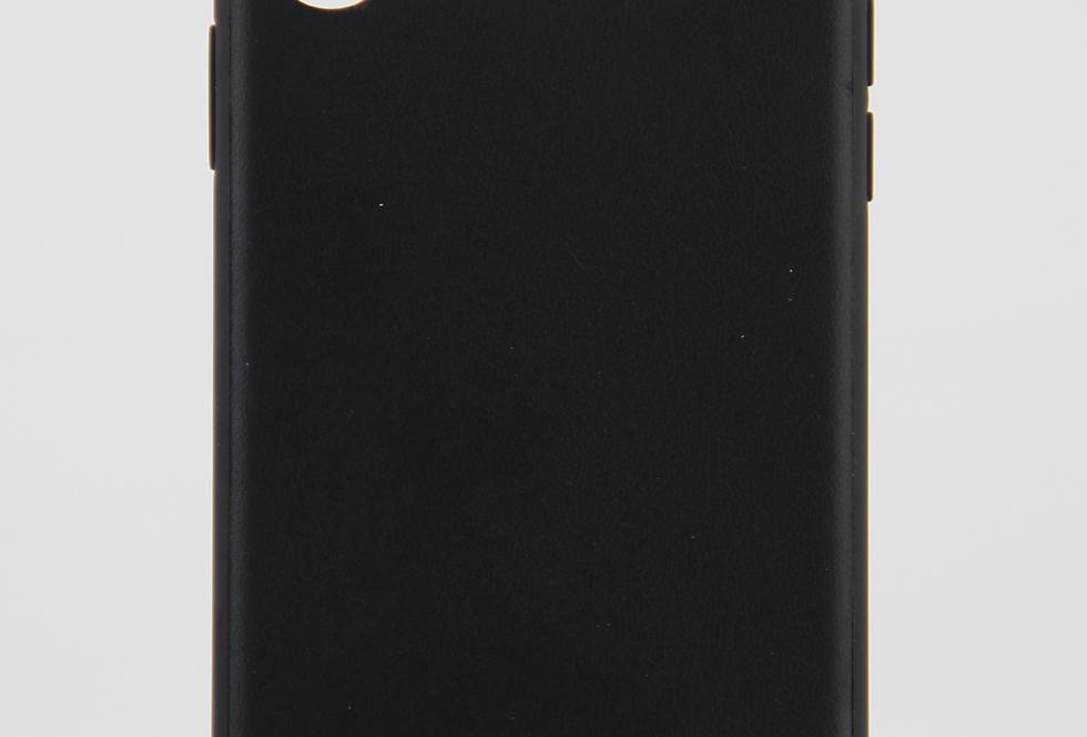 Кожаный чехол на iPhone X/Xs BMW #4