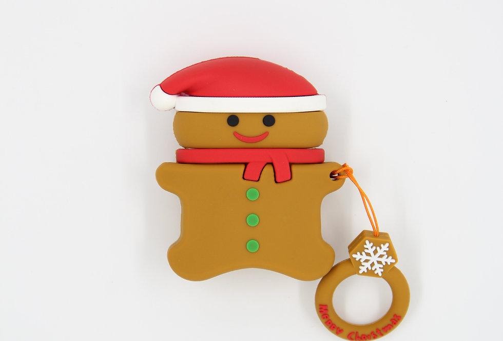 Чехол на AirPods (Gingerbread)