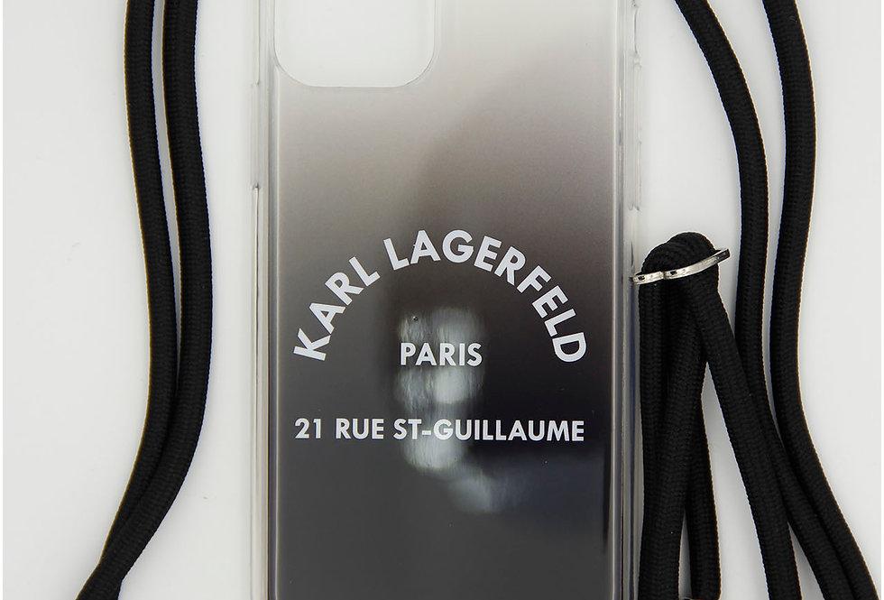 Силиконовый чехол как сумочка на iPhone 11 Pro Karl Lagerfeld