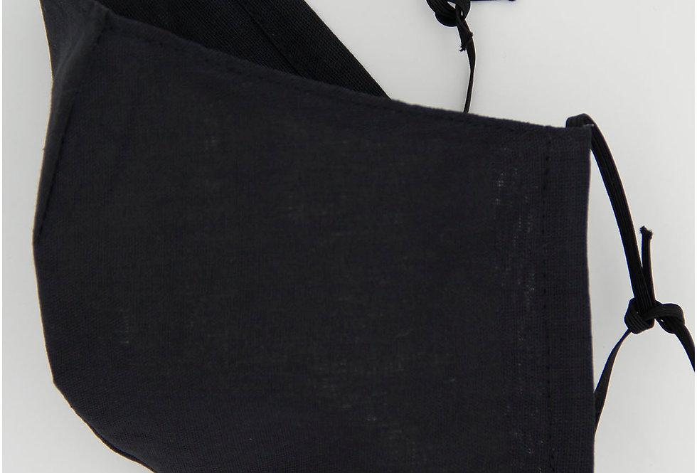 Двухслойная черная маска