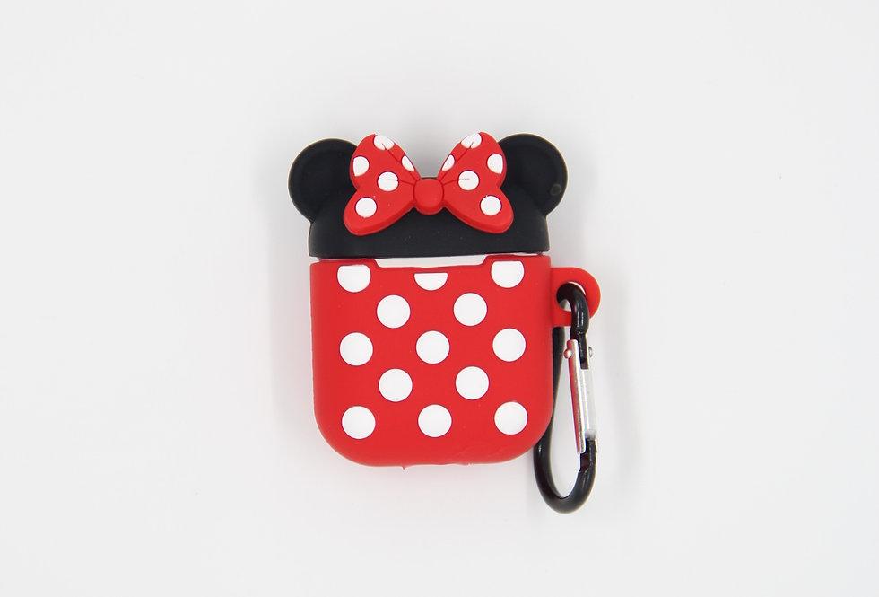 Чехол на AirPods (Minnie mouse)