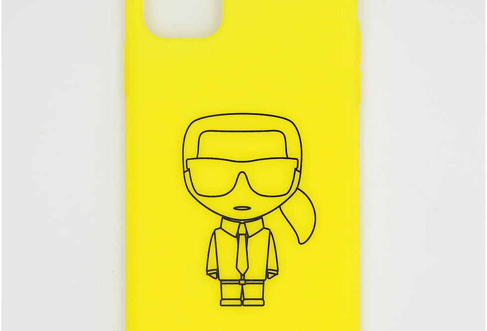 Силиконовый чехол на iPhone 11 Pro Max Karl Lagerfeld