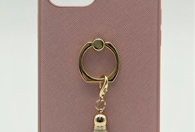 Чехол для iPhone 12 Pro Max с кольцом и логотипом Guess