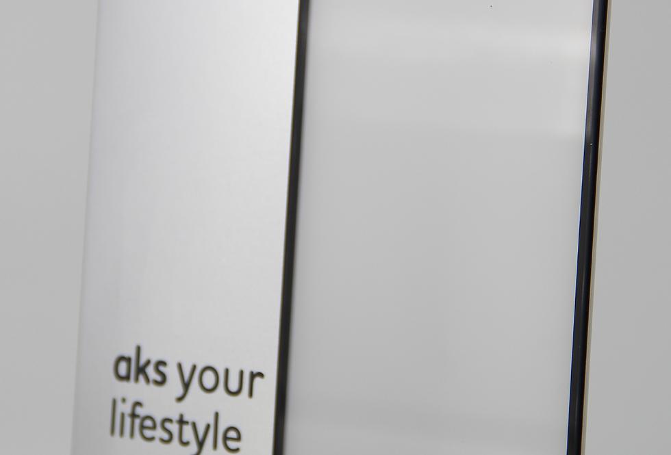 Защитное стекло aks! 3D для iPhone 6 Plus, iPhone 6s Plus