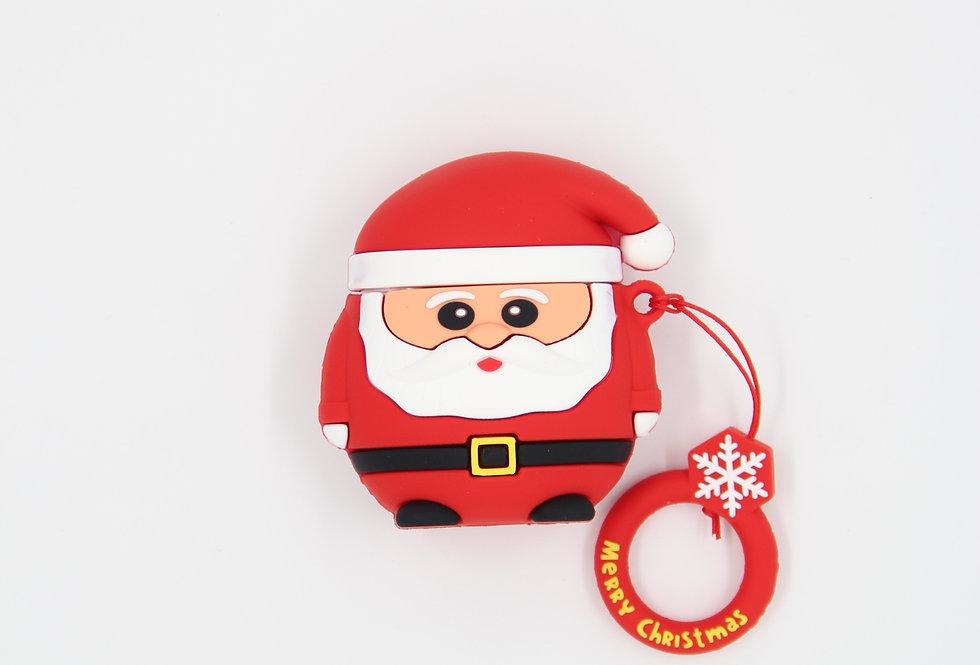 Чехол на AirPods (Happy Santa)