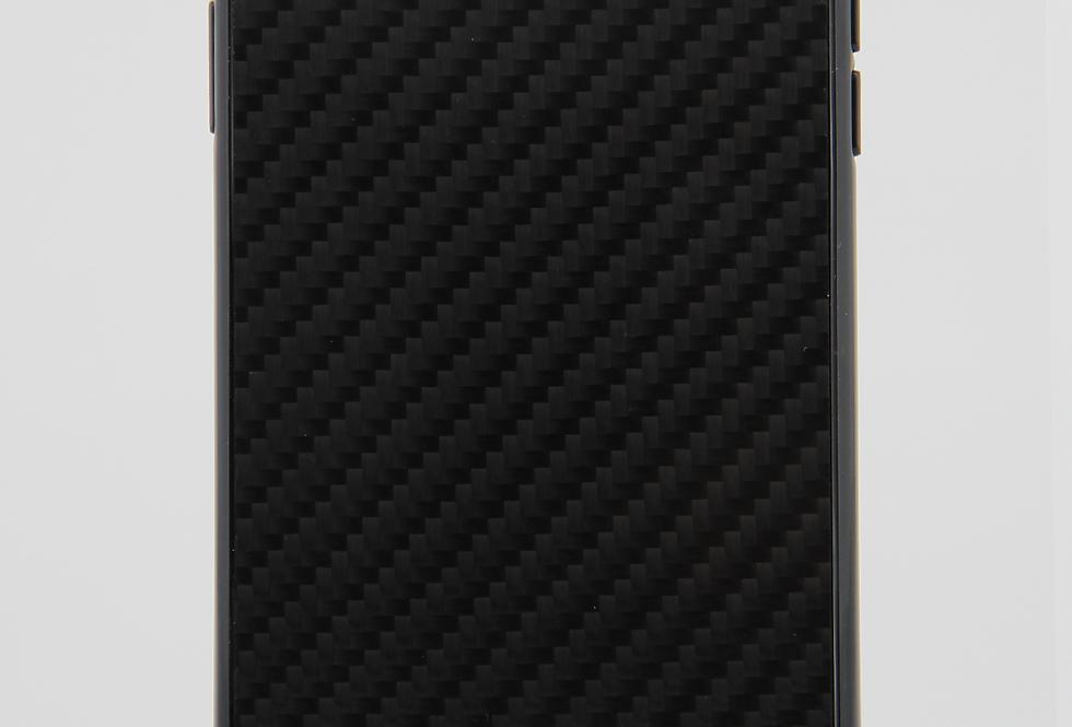 Стеклянный чехол на iPhone Xs Max под карбон BMW M-Series