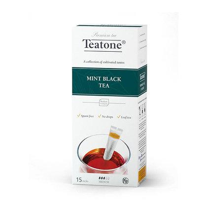 תה שחור מנטה