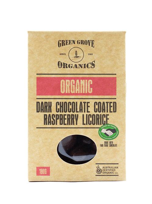 Dark Chocolate Coated Raspberry