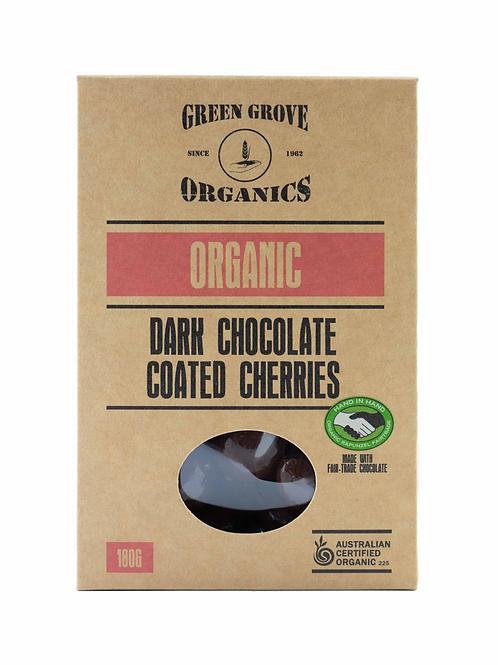 Dark Chocolate Coated Cherries