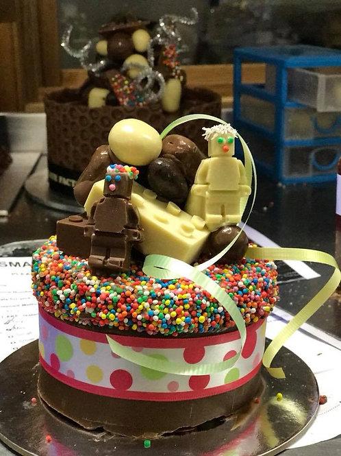 Small Double Layer Round Smash Cake (Small and Mini)