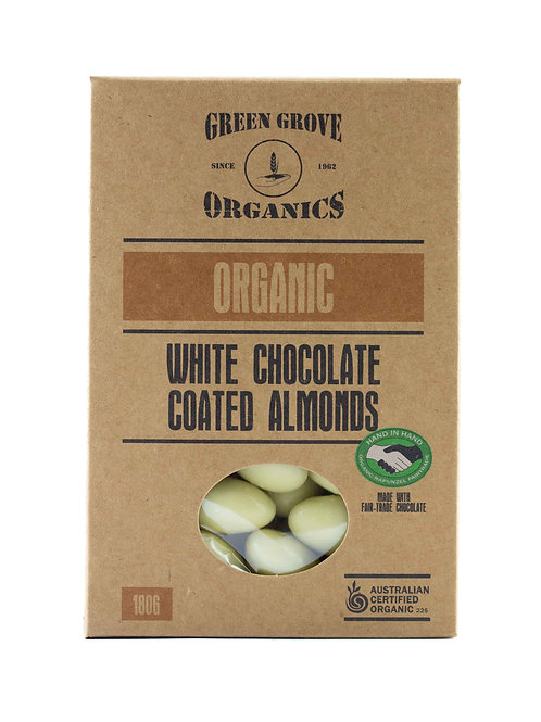 White Chocolate Coated Almonds