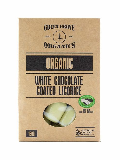 White Chocolate Coated Licorice