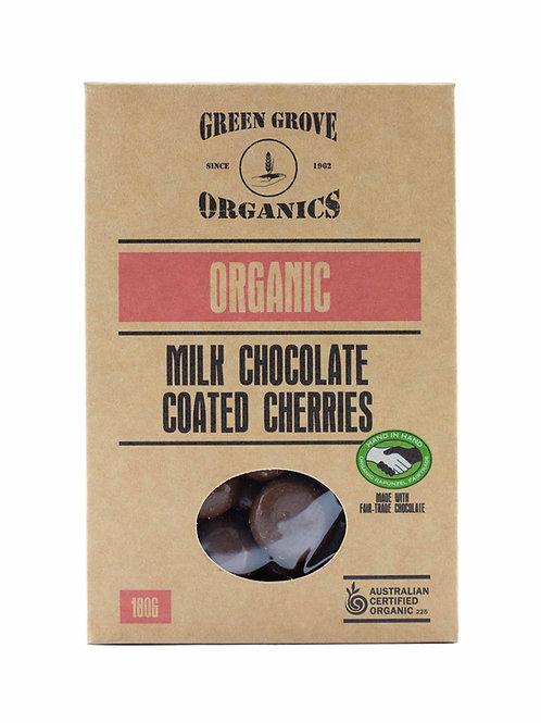 Milk Chocolate Coated Cherries