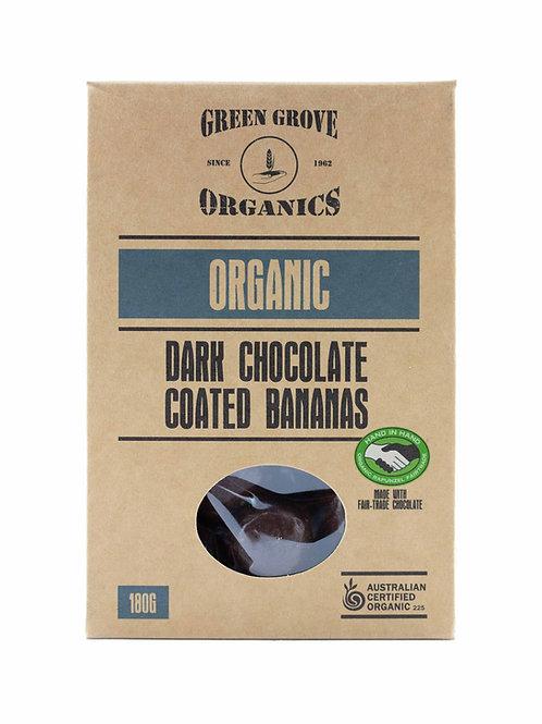 Dark Chocolate Coated Bananas
