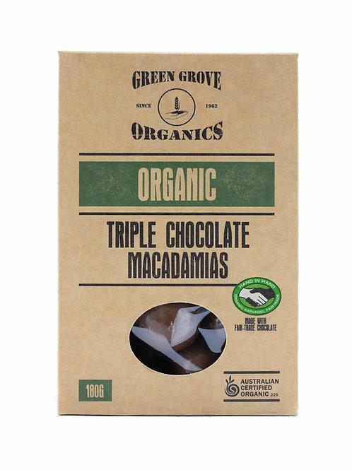 Triple Chocolate Coated Macadamias