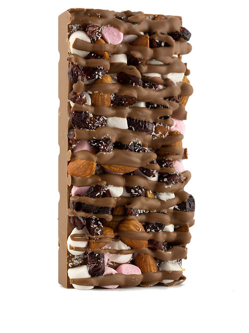 Rocky Road Chocolate Block