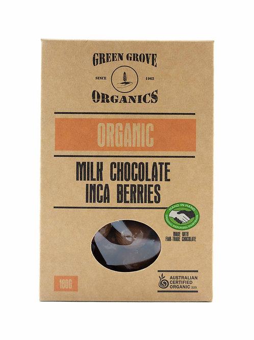 Milk Chocolate Inca Berries