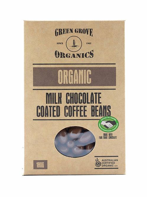 Milk Chocolate Coated Coffee Beans
