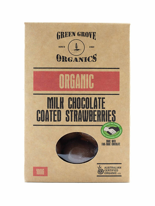 Milk Chocolate Coated Strawberries