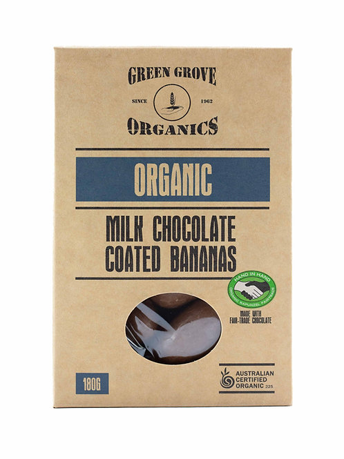 Milk Chocolate Coated Bananas