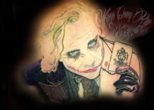 Heath Ledger Joker Portrait
