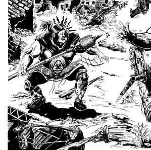 Comic Book Art