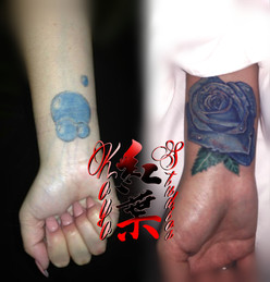 Blue Rose Cover-Up