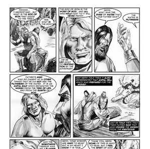 Published Comic Book Page