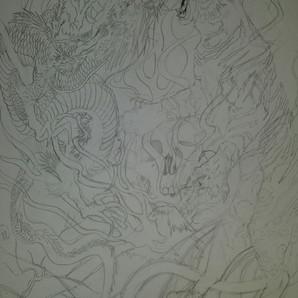 Dragon-Tiger Pencils