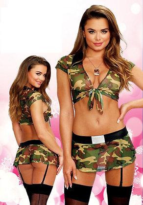Army Camo lingerie set