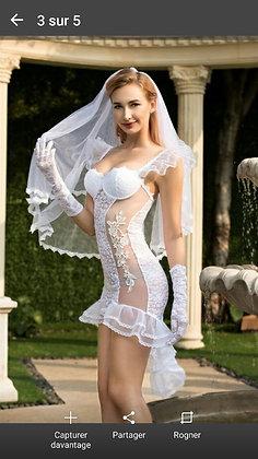 طاقم تنكري العروسة