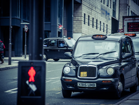 Why not hire the traditional London black cab for film work?