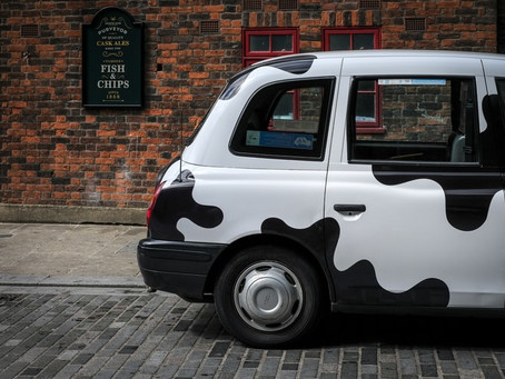 5 times black cabs have been used for PR and advertising