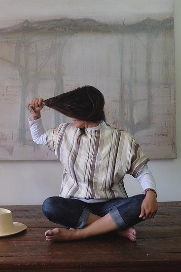 Bateau Silk Top