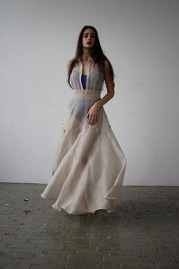 Acacia Dress Tan