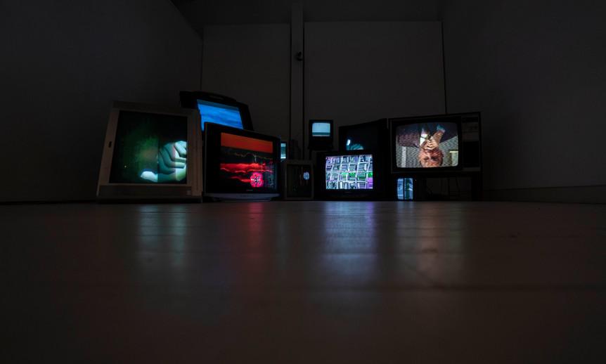 noise - audiovisual installation