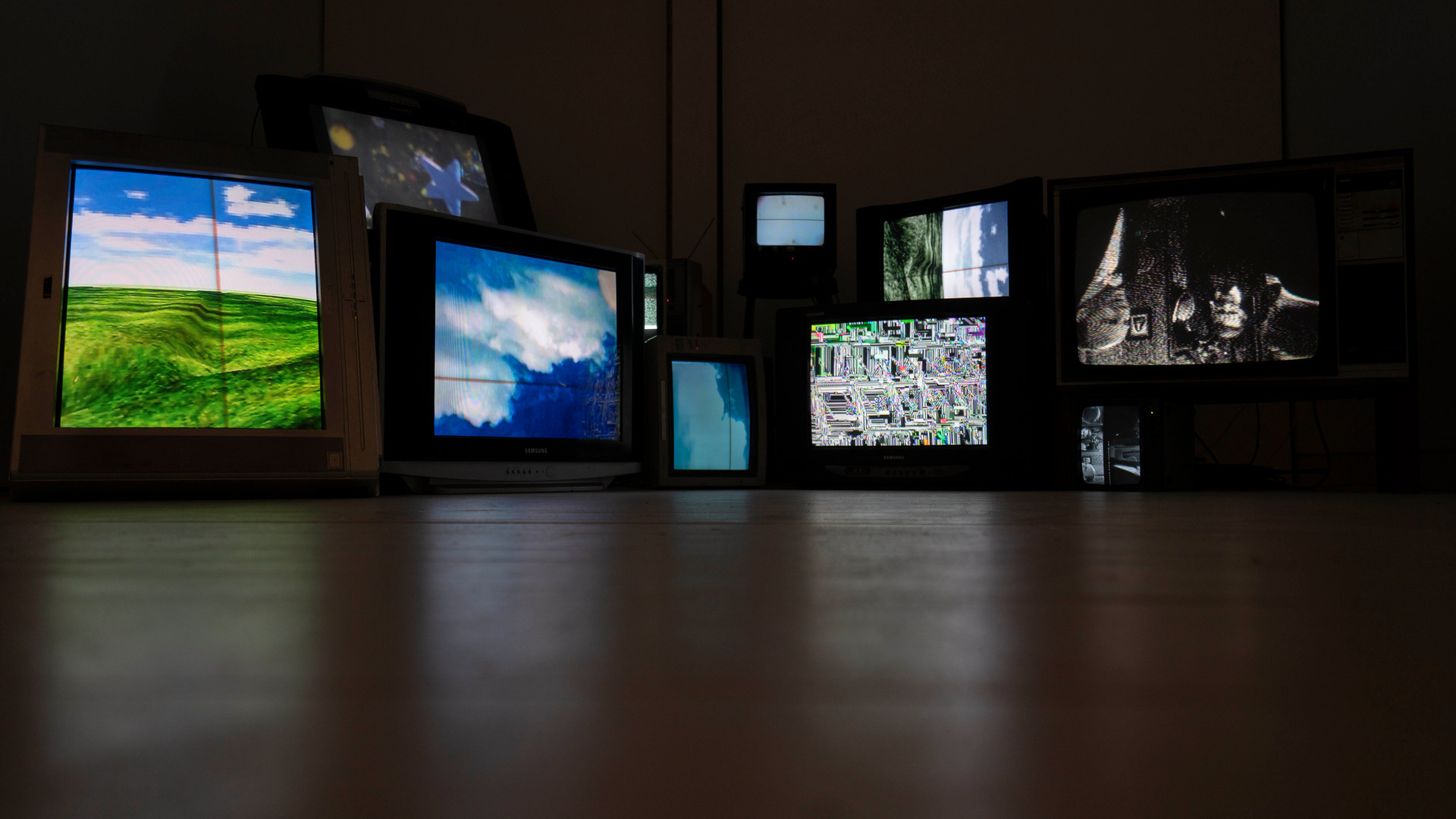 noise - audiovisual installation