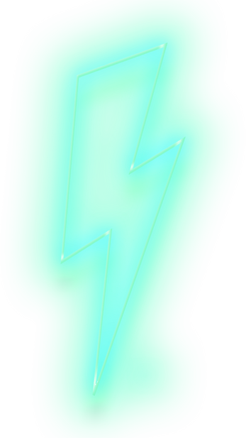 neon green lightning bolt.png