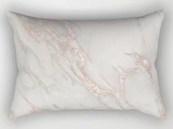 Marble Rose Gold Blush Pink Metallic Pil