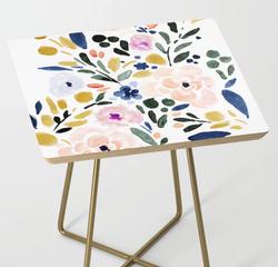 Sierra Floral Side Table