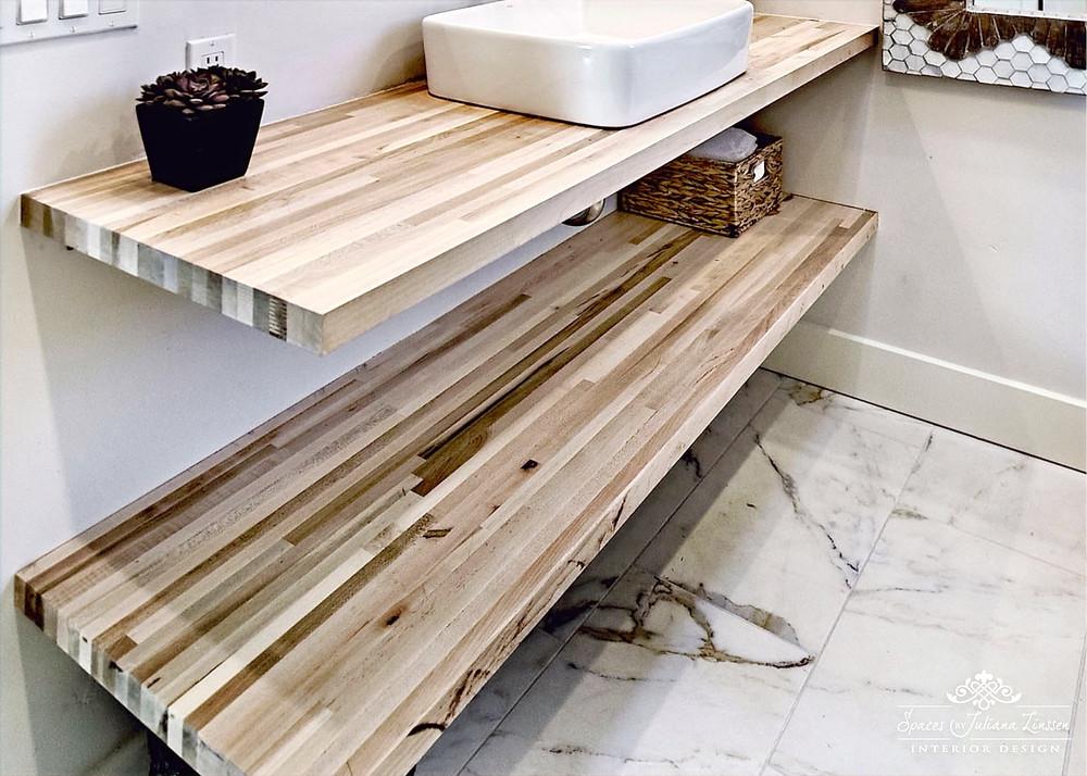 natural stone flooring bathroom