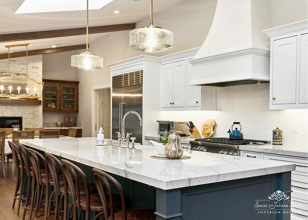 mixed metals kitchen