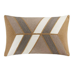 Aero Embroidered Abstract Pillow